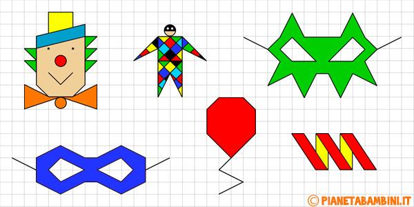 cornicette-carnevale-quadretti-disegnare-colorare