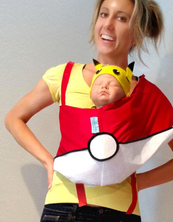 Costume per neonato fai da te da Pokemon