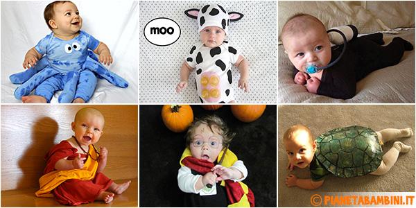 Idee per creare costumi di Carnevale fai da te per neonati