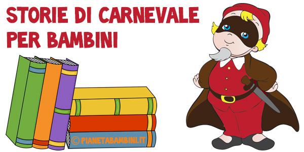 Racconti di Carnevale per bambini da leggere e stampare gratis