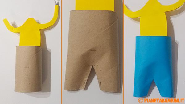 Come creare il pantalone per il pagliaccio con palloncini e cartoncini