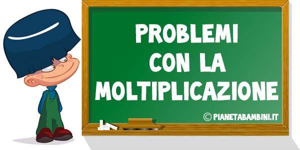 Problemi con la moltiplicazione da stampare gratis