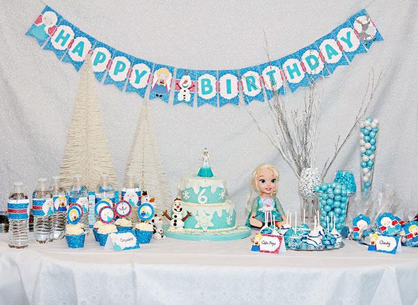 Idee per organizzare una festa a tema Frozen per bambini