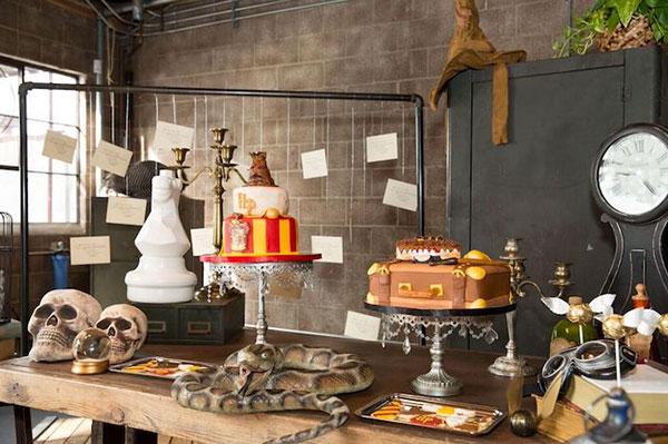 Idee per organizzare una festa a tema Harry Potter per bambini