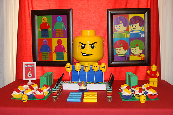 Idee per organizzare una festa a tema Lego per bambini