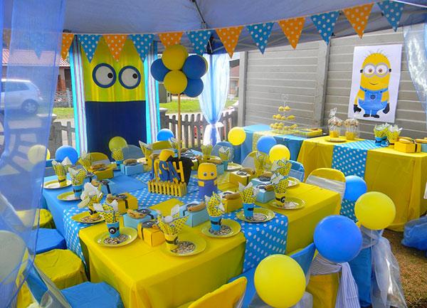 Idee per organizzare una festa a tema Minions per bambini