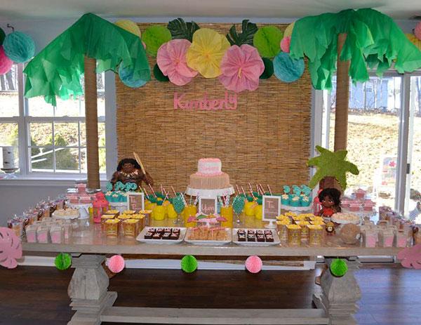 Idee per organizzare una festa a tema Oceania per bambini
