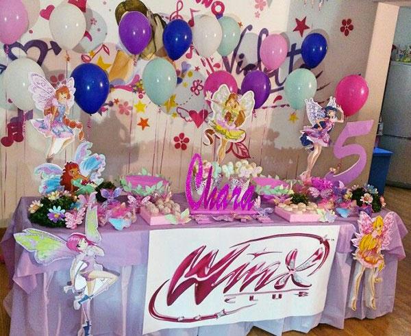 Idee per organizzare una festa a tema Winx per bambine