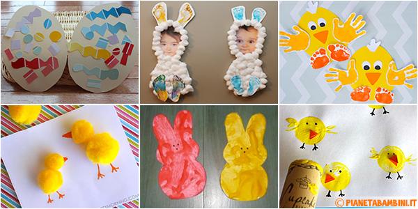 Idee per creare lavoretti di Pasqua con i bambini dell'asilo nido