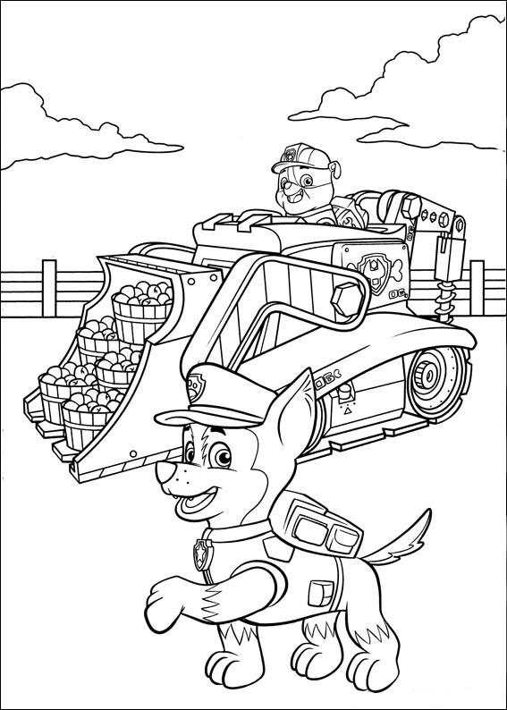 50 disegni di paw patrol da colorare - Auto cool alle pagine da colorare ...
