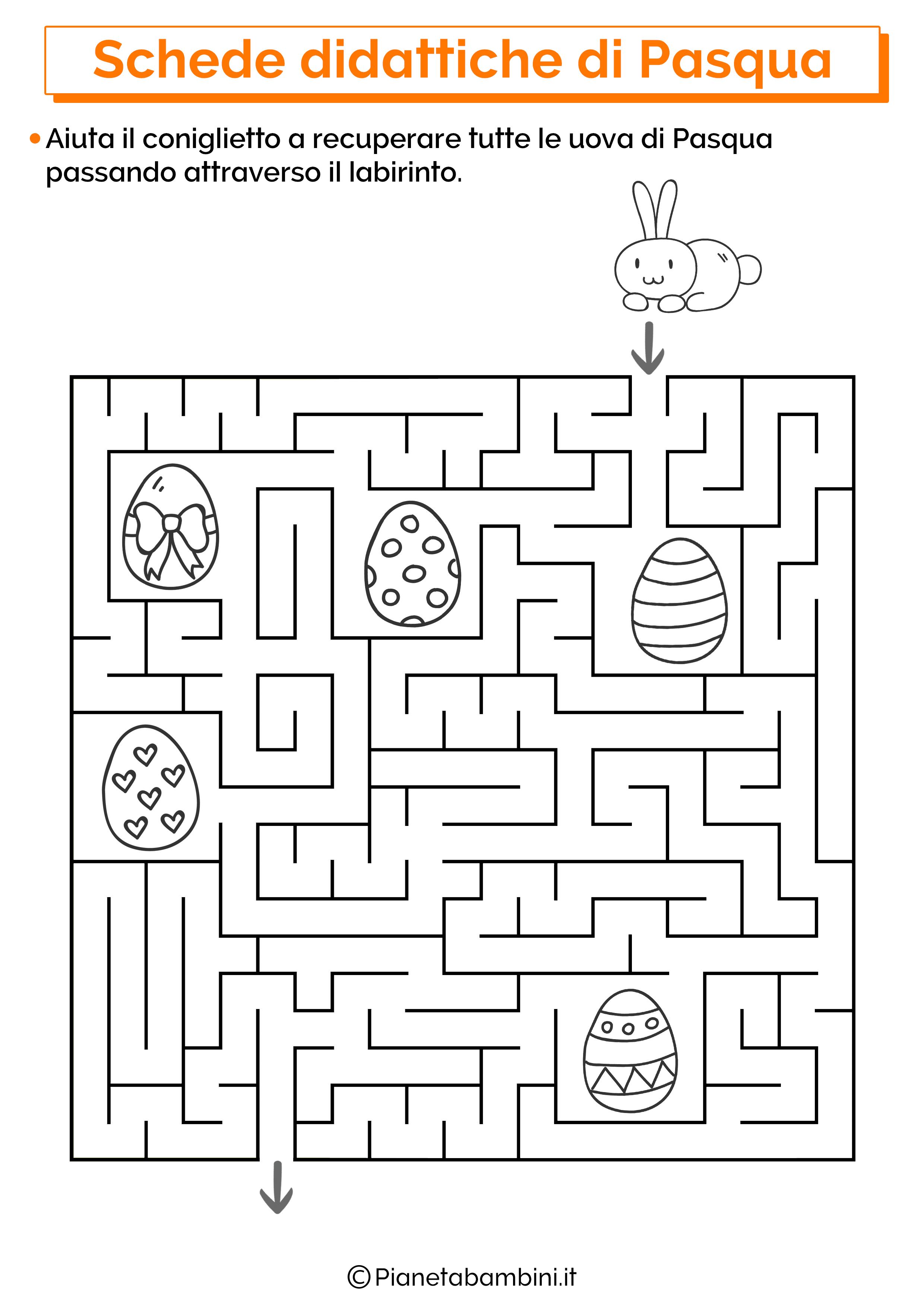 Scheda didattica sulla Pasqua per la scuola primaria 15