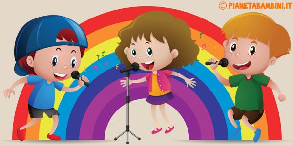 Canzoni sui colori da ascoltare online per bambini della scuola dell'infanzia