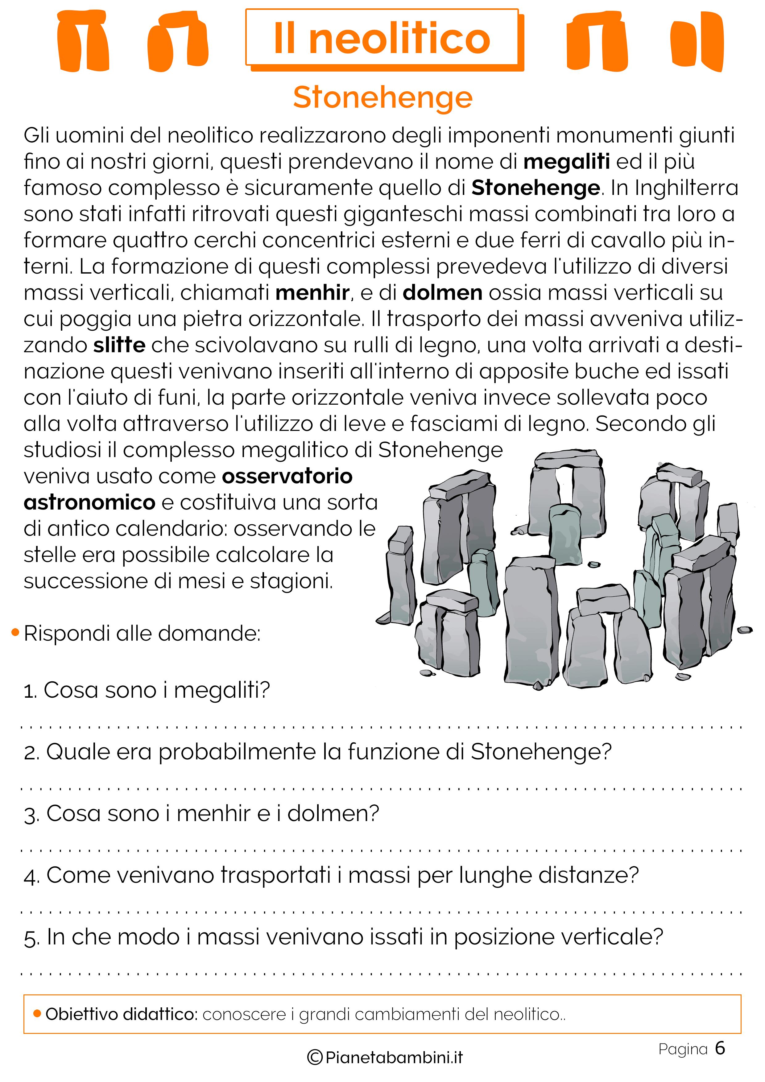 Schede didattiche sul neolitico 06