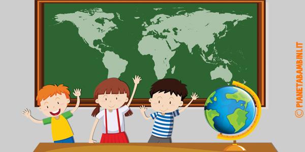 Schede didattiche su mappe, piante e carte geografiche per la scuola primaria da stampare gratis