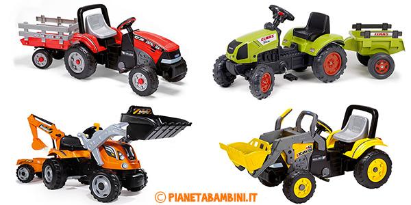 I migliori modelli di trattori a pedali per bambini