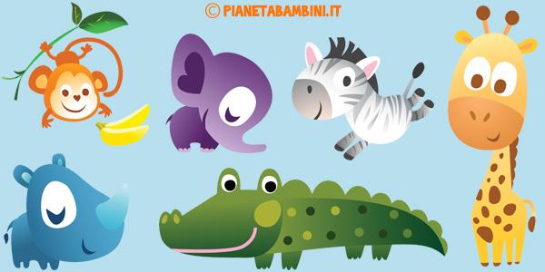 Canzoni sugli animali per bambini da ascoltare online