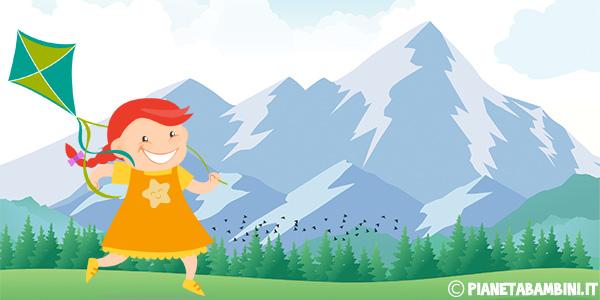 Schede didattiche sulla montagna per la scuola primaria da stampare gratis