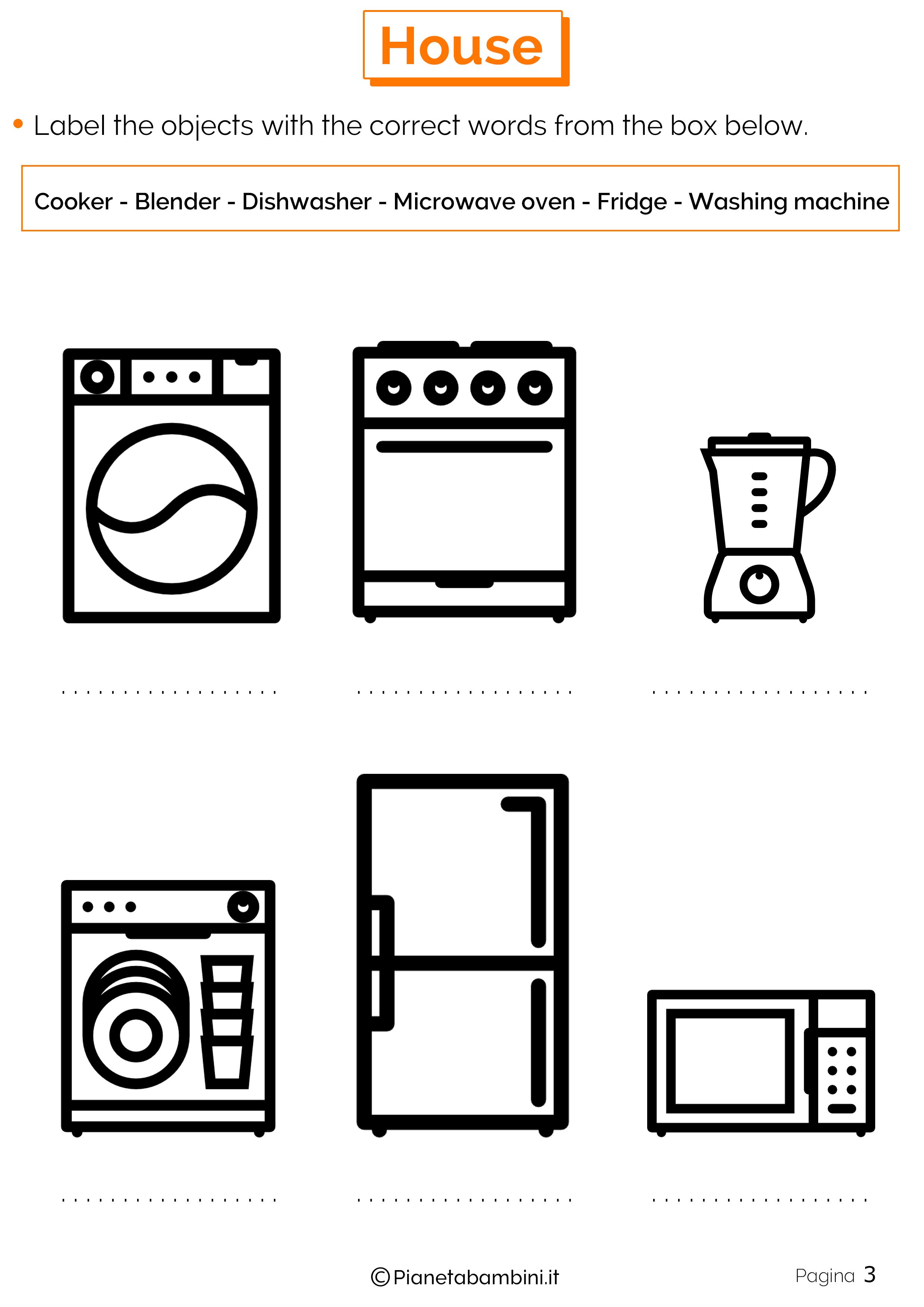 Tutti gli oggetti della cucina in inglese – Ricette popolari sito ...