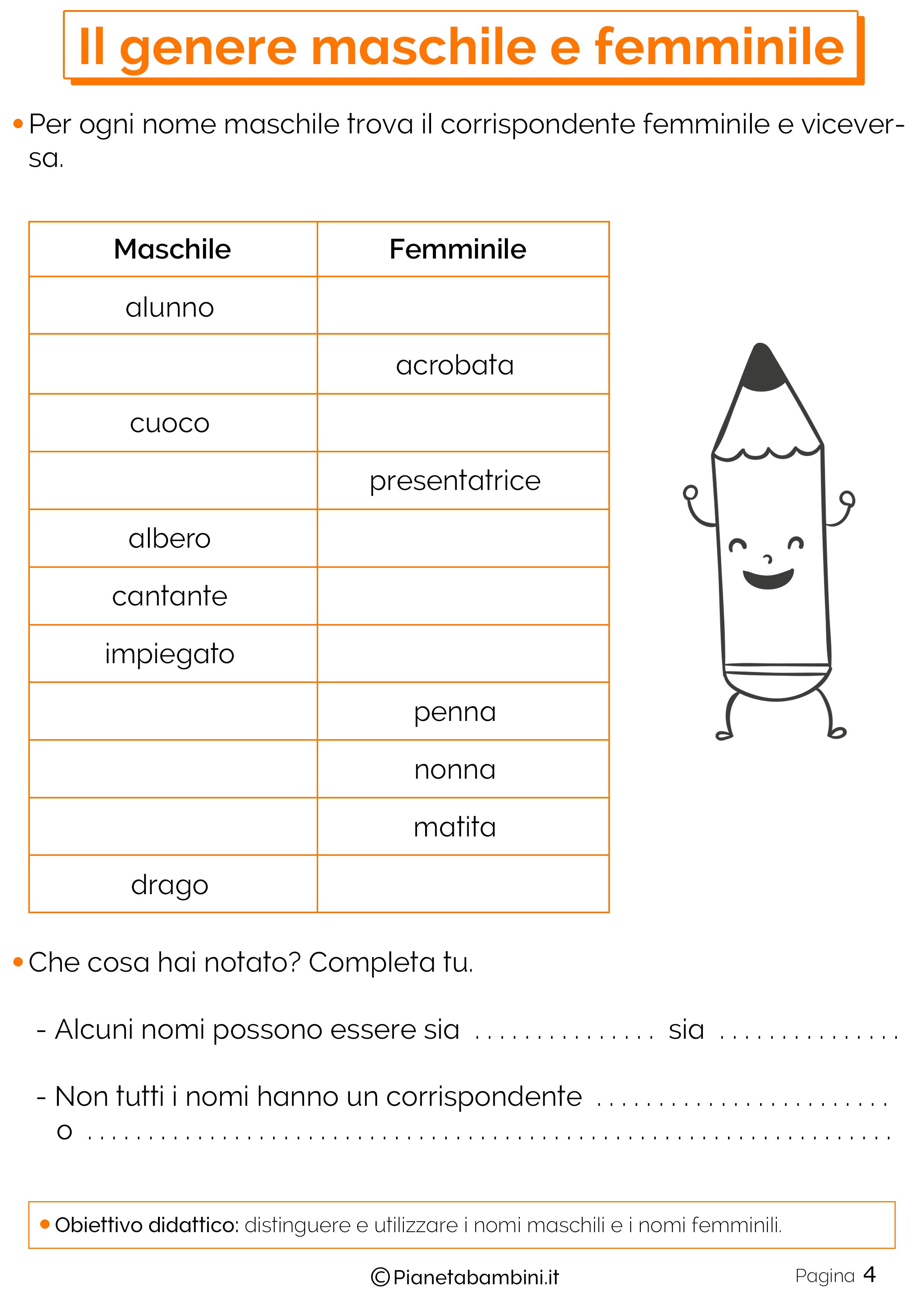 moda nomi comuni e nomi propri classe prima fk66 pineglen