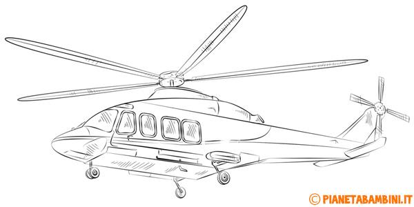 Disegni di elicotteri da stampare gratis e colorare