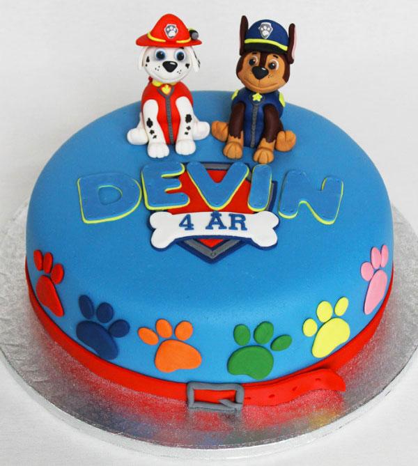 Foto della torta di Paw Patrol n.03