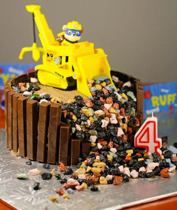 Foto della torta di Paw Patrol n.04