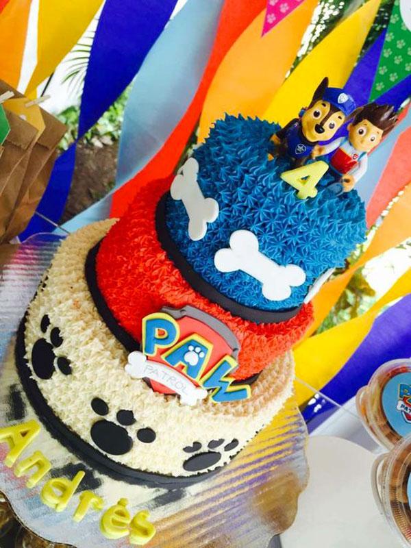 Foto della torta di Paw Patrol n.08