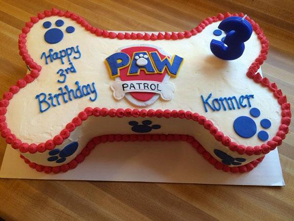 Foto della torta di Paw Patrol n.09
