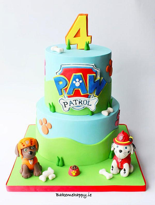 Foto della torta di Paw Patrol n.11