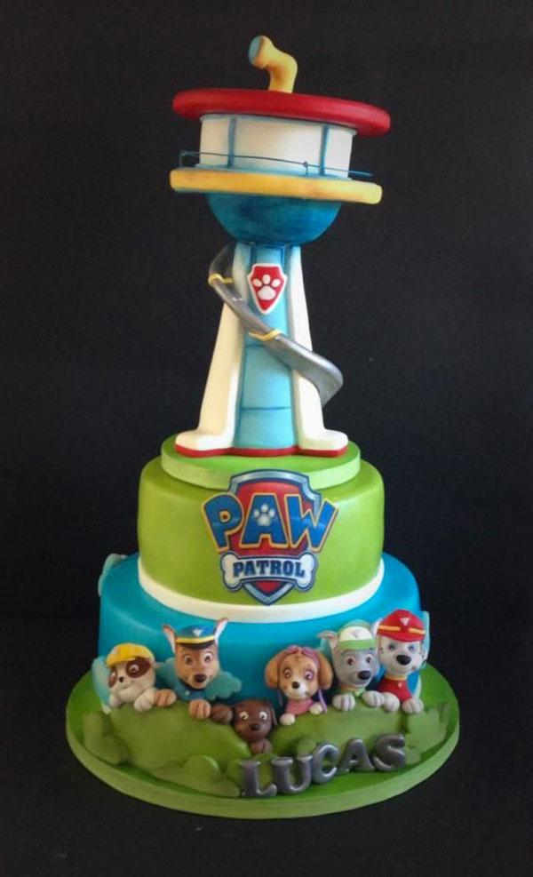 Foto della torta di Paw Patrol n.16