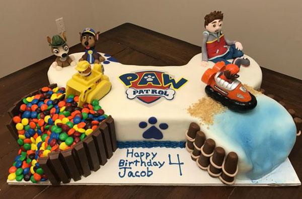 Foto della torta di Paw Patrol n.17