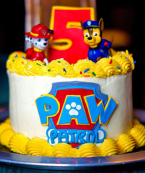 Foto della torta di Paw Patrol n.23