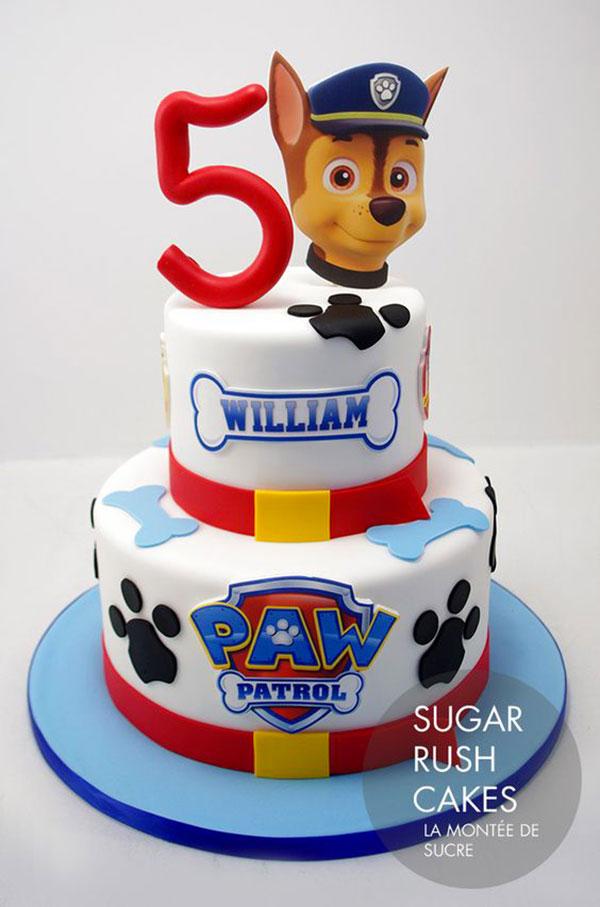 Foto della torta di Paw Patrol n.27