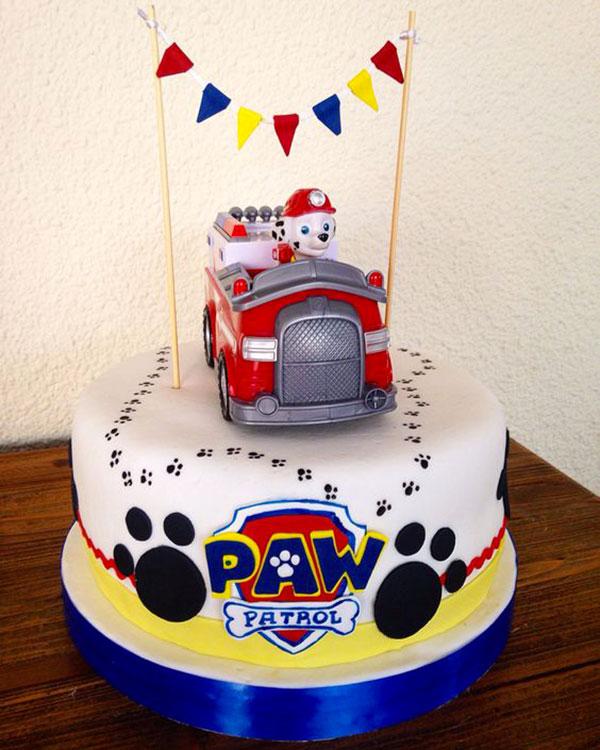 Foto della torta di Paw Patrol n.33