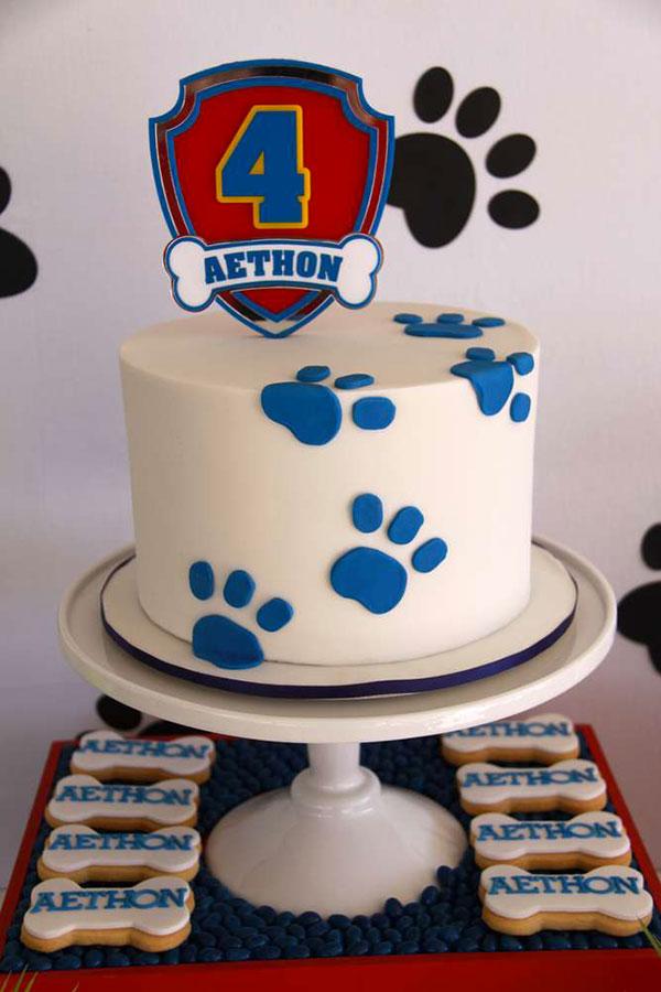 Foto della torta di Paw Patrol n.42