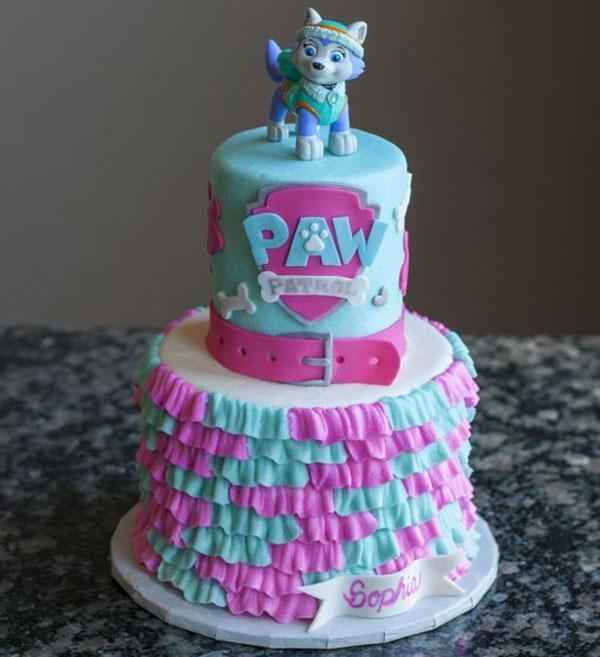 Foto della torta di Paw Patrol n.45