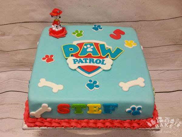 Foto della torta di Paw Patrol n.49