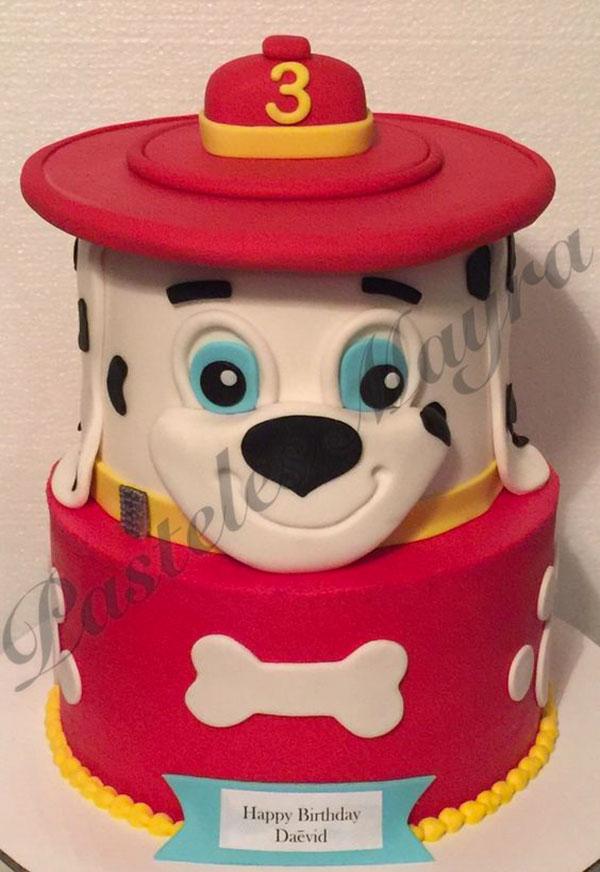 Foto della torta di Paw Patrol n.52