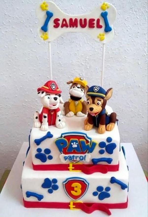 Foto della torta di Paw Patrol n.56
