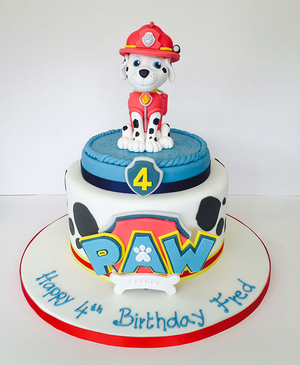 Foto della torta di Paw Patrol n.58