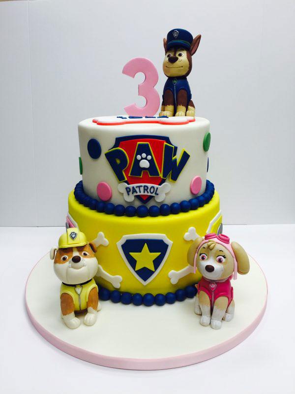 Foto della torta di Paw Patrol n.59
