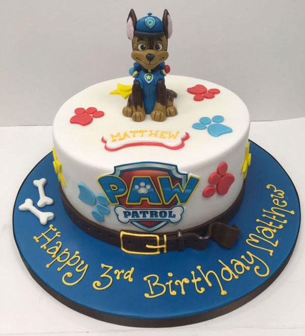 Foto della torta di Paw Patrol n.61