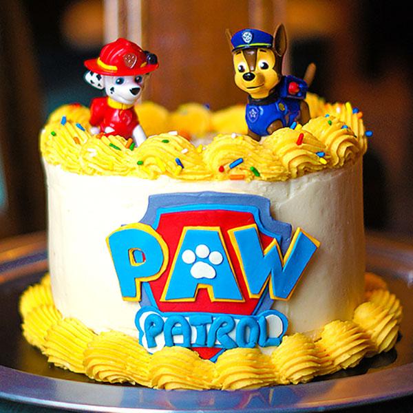 Foto della torta di Paw Patrol n.64