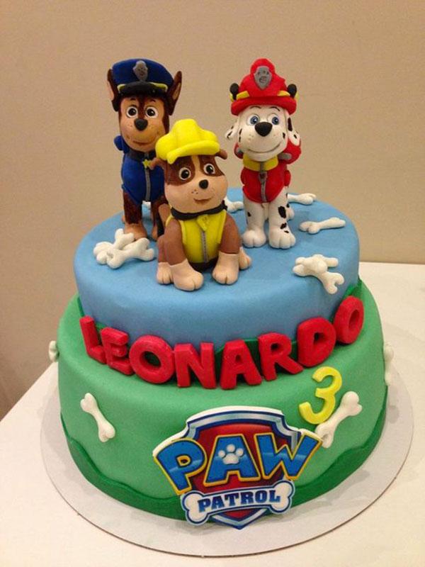 Foto della torta di Paw Patrol n.73