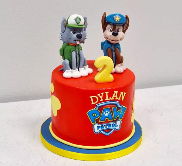 Foto della torta di Paw Patrol n.76