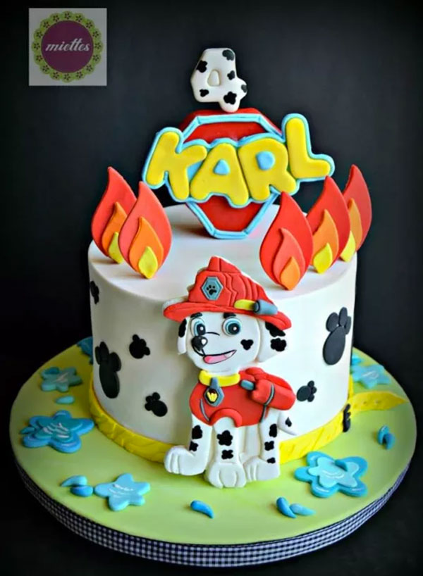 Foto della torta di Paw Patrol n.78