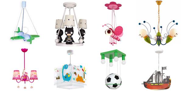 Lampadari originali per camerette di bambini