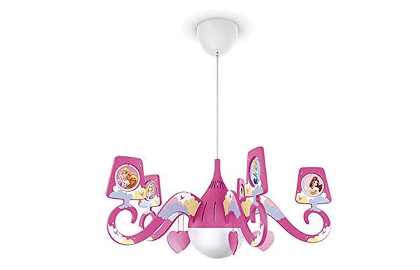 Foto del lampadario per camerette di bambini delle principesse n.51