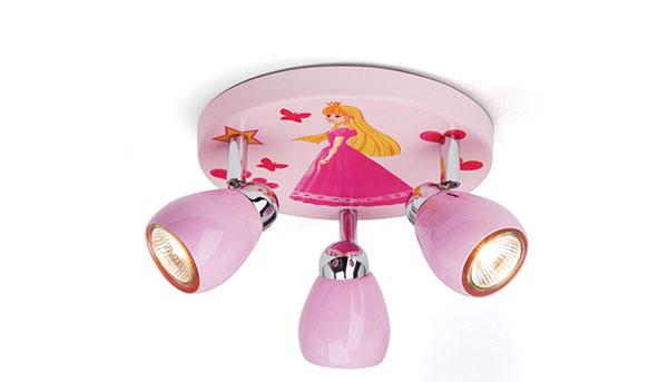 Foto del lampadario per camerette di bambini delle principesse n.54