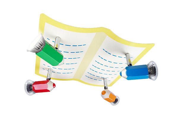 Foto del lampadario per camerette di bambini n.65